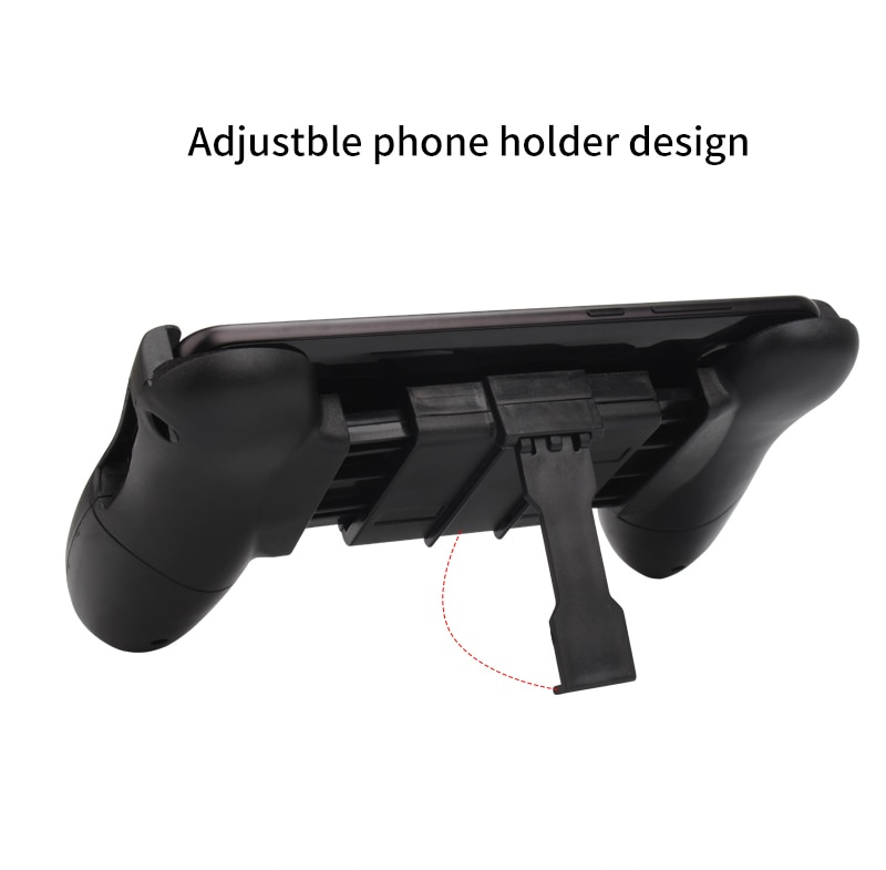 Portable Gamepad For PUBG Mobile Gaming Controller Extended Handle Holder Game Grip For iPhone Android Smartphones 4.5-6' Inch